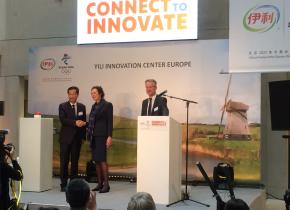 Asian Dairy Giant Yili Opens New Innovation Center in the Netherlands